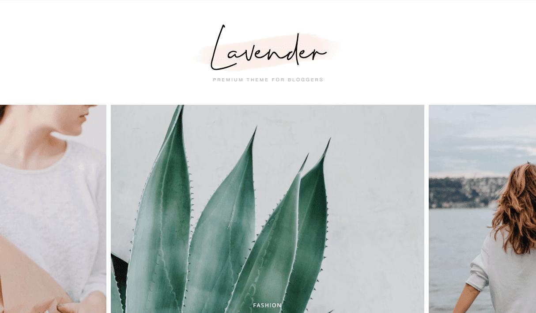 Lavender v1.0 - Responsive Personal Blogger Template