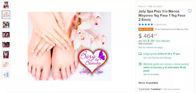 jelly spa precio