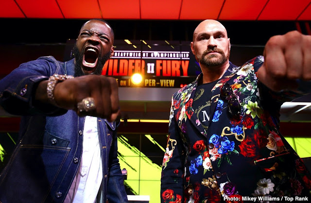 Deontay Wilder Tyson Fury Rematch 1