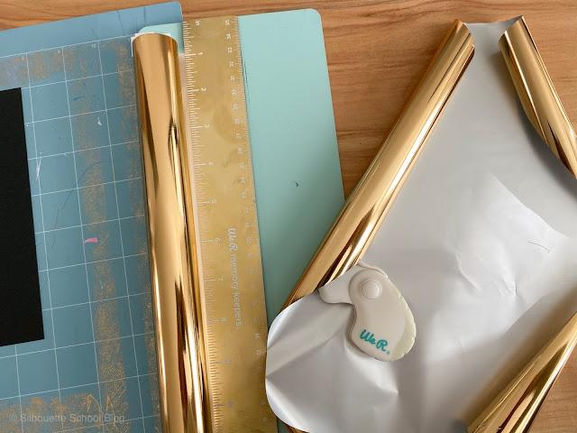 foil quill, foil quill silhouette, foil quill designs, foil quill hack, WAMK Foil Trimmer