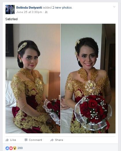 TESTIMONI KEPUASAN PELANGGAN - Pemberkatan Penikahan di Gereja Bekasi - Belinda & Fransiscus #01