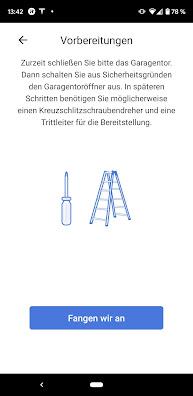 Montageanleitung Refoss Garagentoröffner