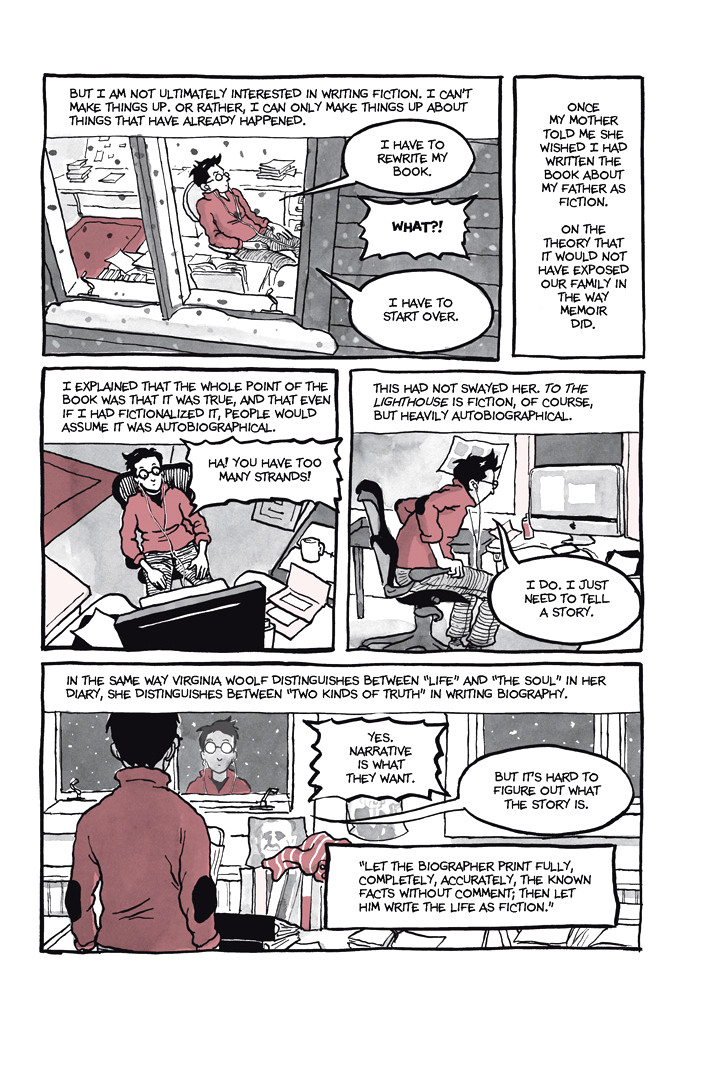 Page 28, Chapter 1: Ordinary Devoted Mother from Alison Bechdel's graphic novel Are You My Mother