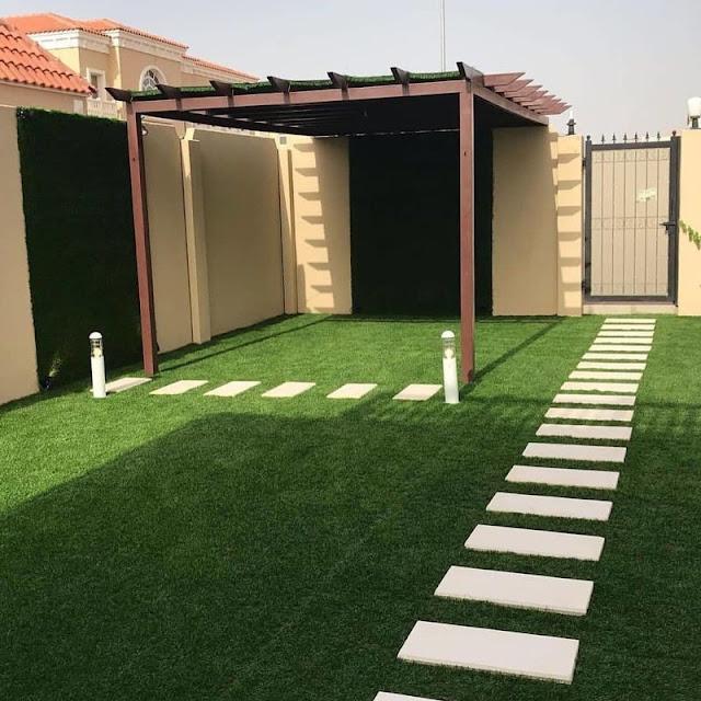 تنسيق حدائق منزلية في عسير شركة تنسيق حدائق الاستراحات بخميس مشيط