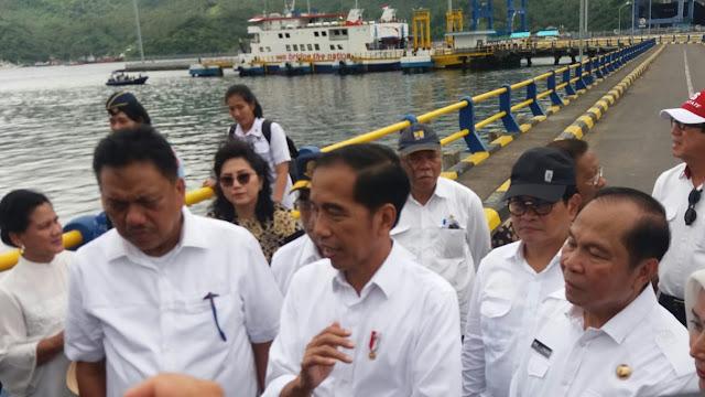 Presiden Canangkan Jembatan Penghubung Pulau Lembeh dan Kota Bitung Segera di Bangun