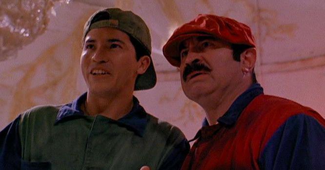Reino do Cogumelo: Arquivistas do filme Super Mario Bros. (1993 ...