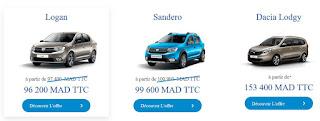 Dacia Maroc Offres 2019 2020
