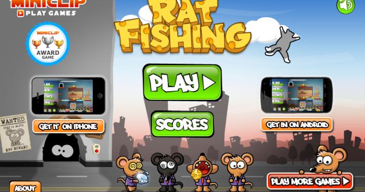 Rat fishing games pc free online 2017 for Fishing games 2017