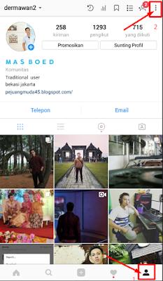 Bagi kalian yang bahagia menggeluti dunia bisnis online dan memakai aplikasi instagram √  Cara menciptakan multi akun di instagram dalam satu aplikasi