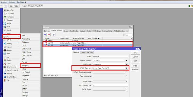 cara mudah mengganti halaman hotspot mikrotik