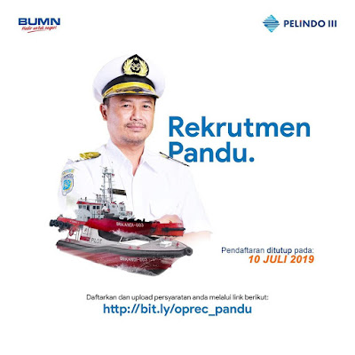 Lowongan Kerja BUMN PT Pelindo III (Persero) Juli 2019