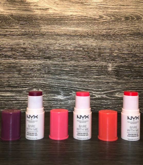 NYX Bare With Me Hydrating Cheek Tint (Review and Swatches)