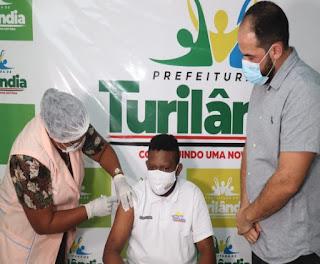Campanha de vacinação contra a covid-19 continua em Turilândia