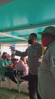 Perketat Penerapan Prokes, Bhabinkamtibmas Pulau Barrang Lompo rutin Imbau Warga di Dermaga