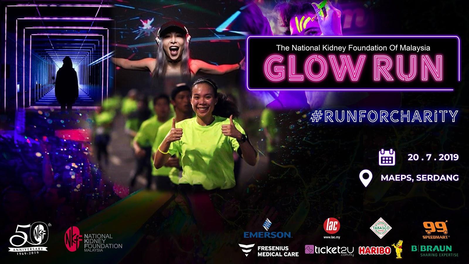 NKF GLOW RUN Happen 20th July 2019 - Betty's Journey