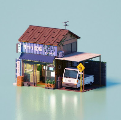 Voxel Art of the Month - March