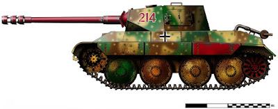 Pz.Kpfw 38 mit Pz.Kpfw IV Drehturm (80 mm PAW 600) Vorschlang