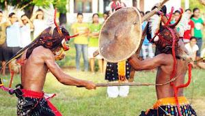 The Beauty of Caci Dance Manggarai, West Flores, East Nusa Tenggara