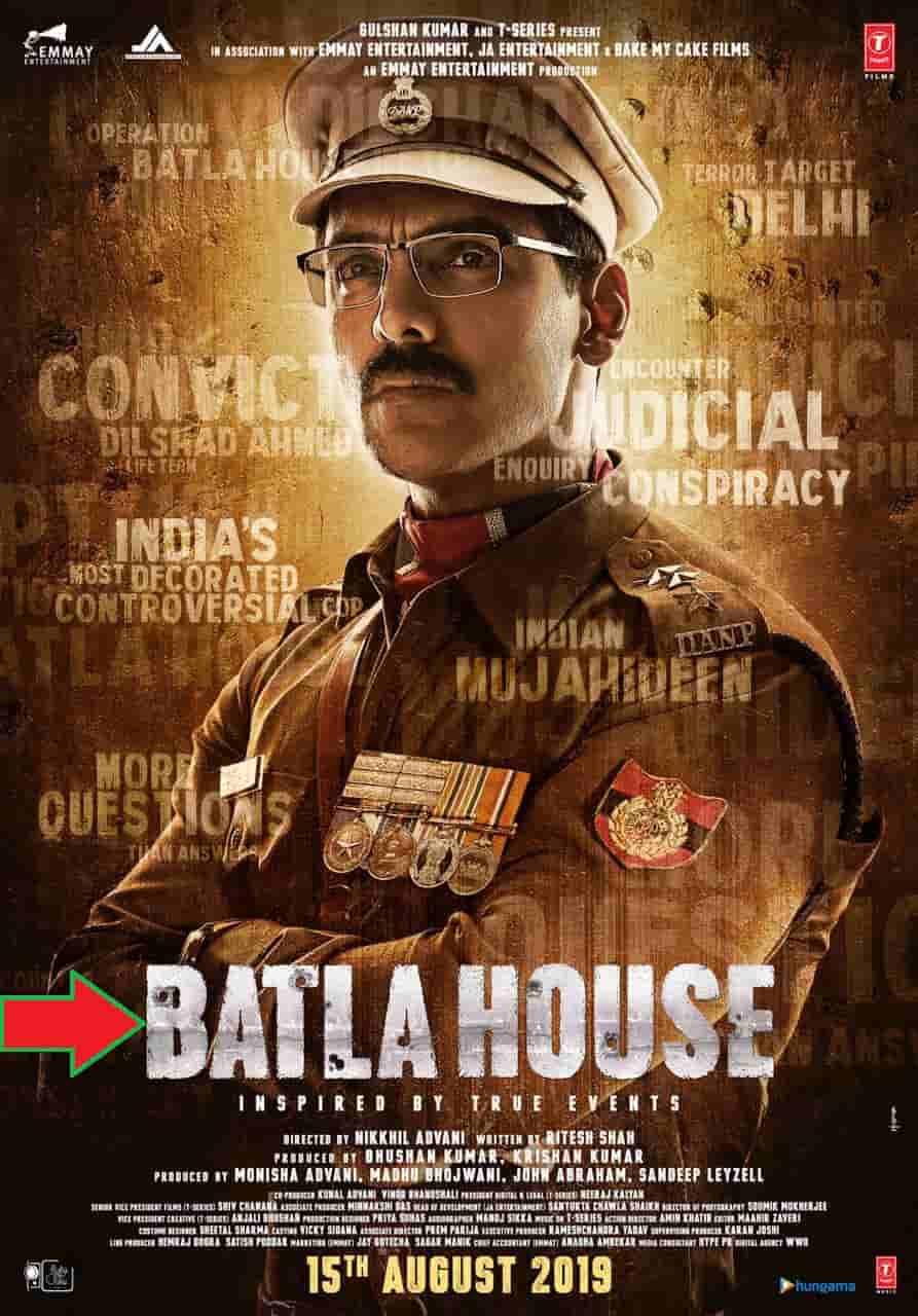 Batla House: Movies, Trailer, Videos, Songs, Mp3, Download