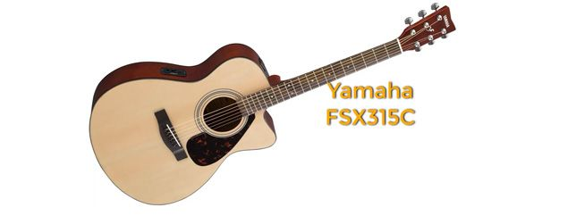 Guitarra Acústica Yamaha FSX315C