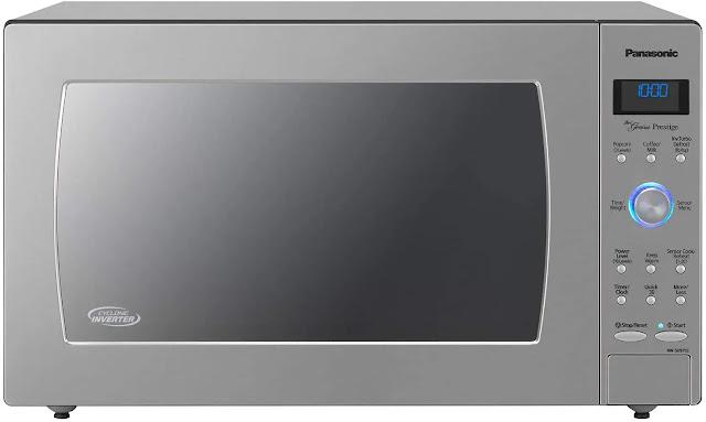 4. Panasonic Countertop Microwave Cyclonic Technology