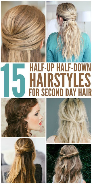 15 HALF-UP HAIRSTYLES FOR SECOND-DAY HAIR