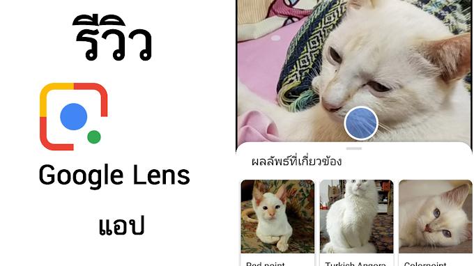 รีวิวแอป Google Lens