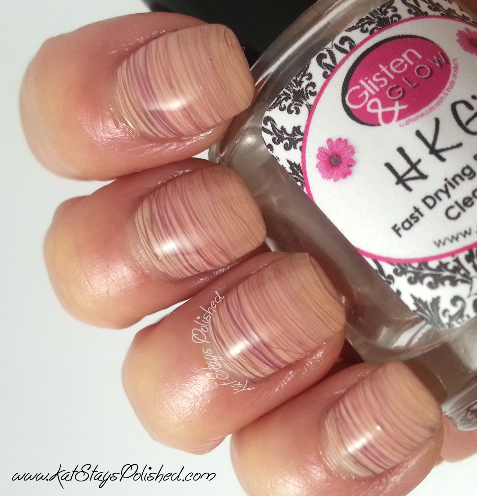 Zoya Naturel - Ombre Spun Sugar Nail Art -=With Top Coat | Kat Stays Polished
