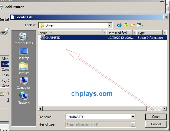 Cách cài đặt Driver Canon LBP 2900 32bit, 64bit trên máy tính 6