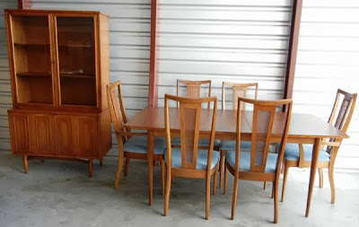 Mad For Mid Century Broyhill Sculptra Dining Room Set For