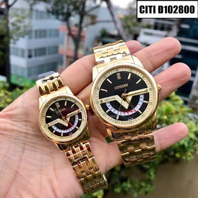 Đồng hồ cặp đôi Citizen Đ102800