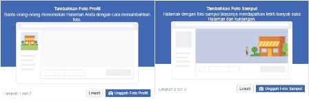 masukan foto profil fanspage