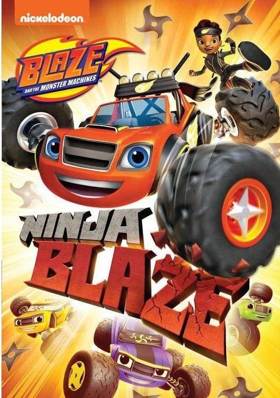 Blaze and The Monster Machines: Ninja Blaze [2019] [DVDR] [NTSC] [Latino]