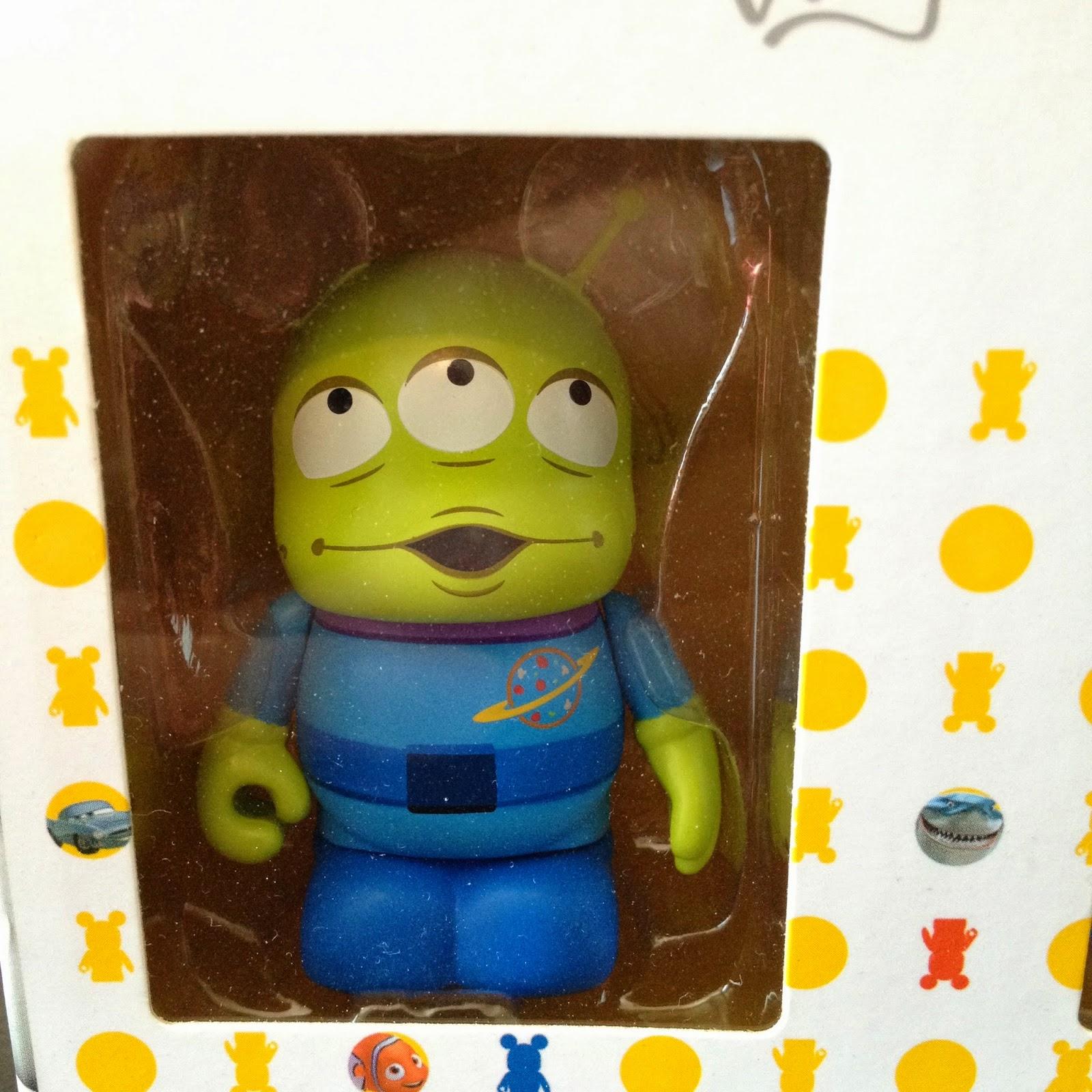 Dan The Pixar Fan Toy Story Alien Vinylmation 3 Pack