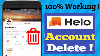 How To Delete Helo App Account ? Step by Step Guide 2020