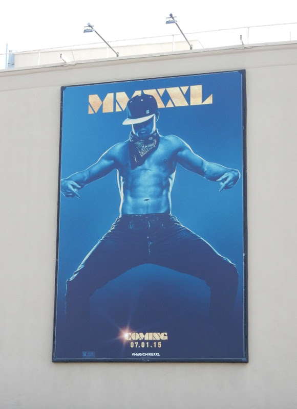 Magic Mike XXL teaser billboard