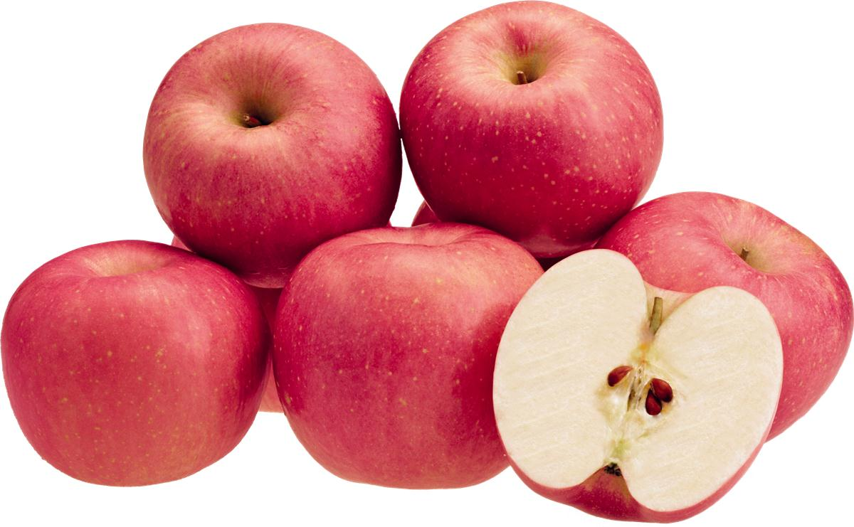 apel fuji buah segar