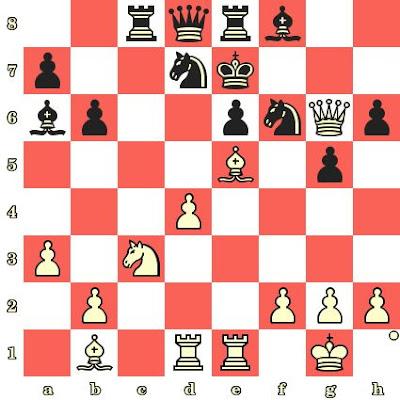 Les Blancs jouent et matent en 4 coups - Jan-Heim Donner vs Arthur Dunkelblum, Beverwijk, 1964