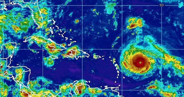 Huracán Irma le costó la vida al joven surfista Zander