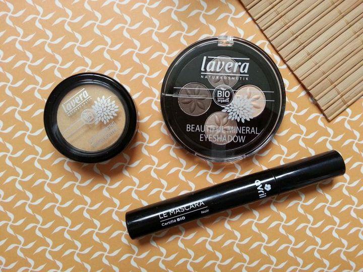 test des produits de maquillage lavera