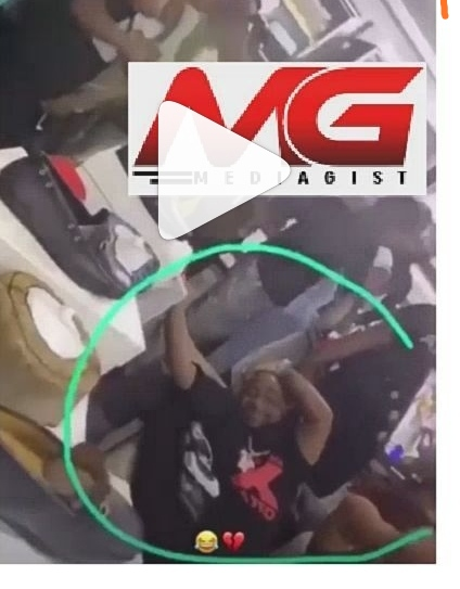 Lol: Moment Davido angrily chased out two lovers making out beside him (Video)