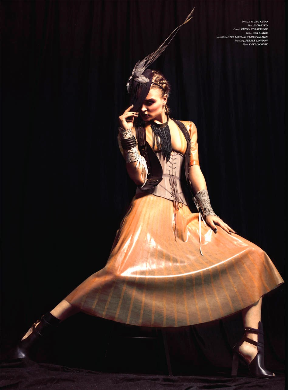latex corset luxury sheer collection corsetorium dress atsuko kudo london