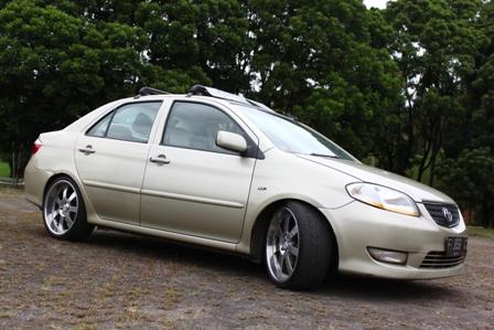 Modifikasi Mobil Vios Tahun 2004