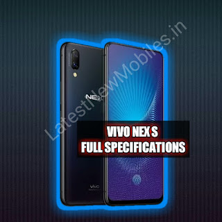 Vivo Nex S price and launch date in india