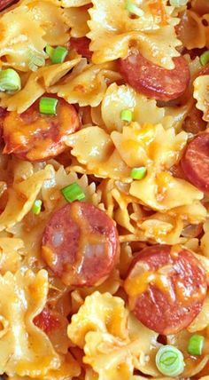 One Pot Kielbasa Pasta #recipes #pastarecipes #easypastarecipes #food #foodporn #healthy #yummy #instafood #foodie #delicious #dinner #breakfast #dessert #lunch #vegan #cake #eatclean #homemade #diet #healthyfood #cleaneating #foodstagram