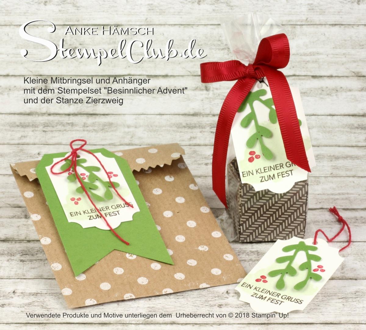 DIY Weihnachtsgeschenke mit Stampin up