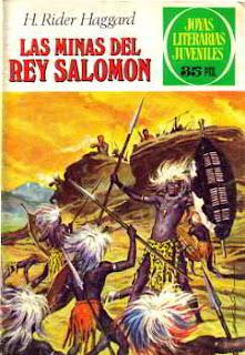 Portada del libro las minas del rey salomon para descargar en pdf