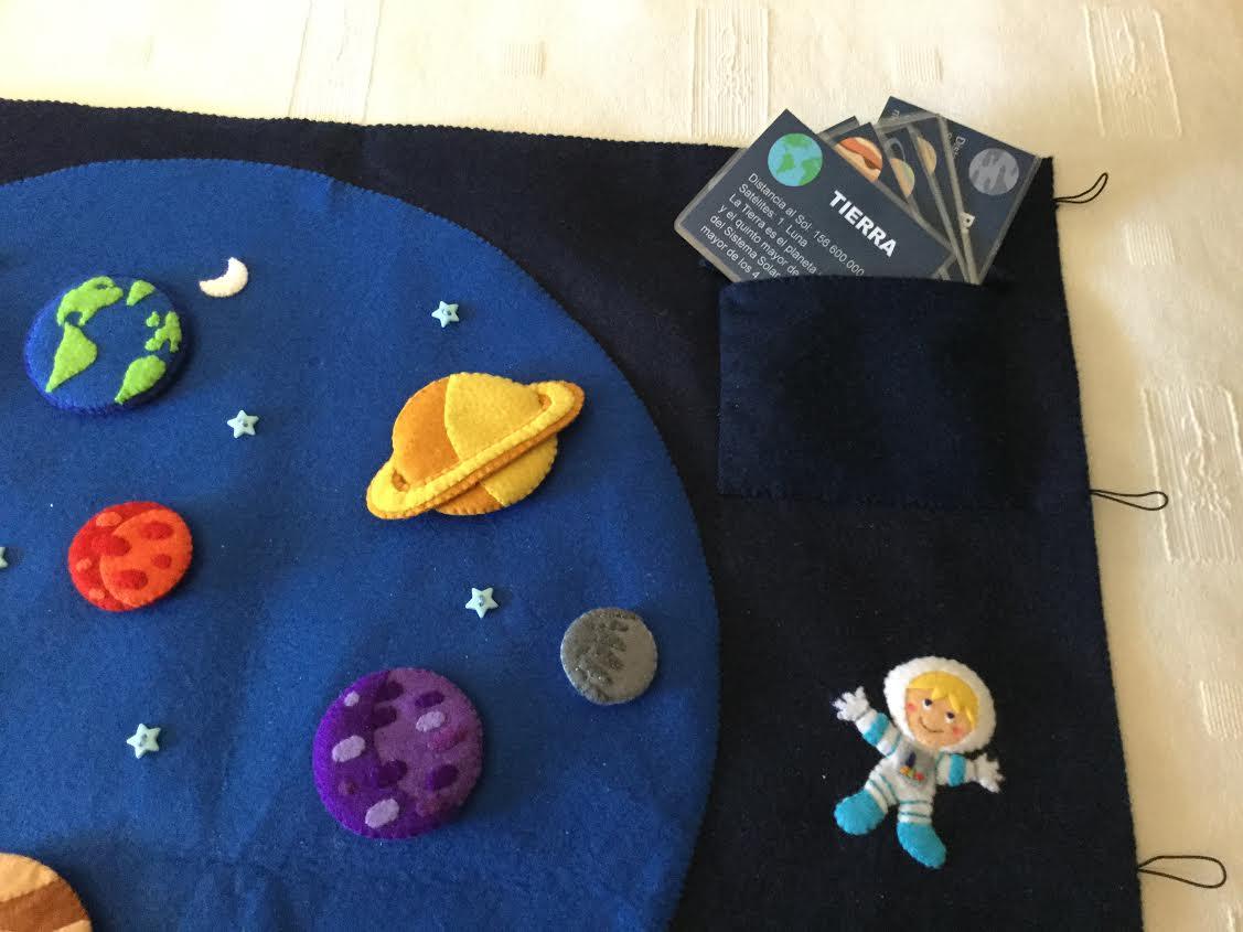 Agariguyi complementos de fieltro sistema solar de fieltro for Hecho a mano