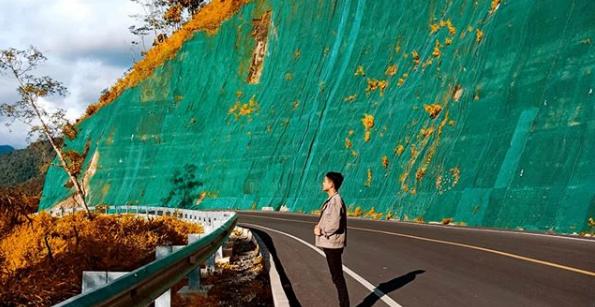Objek Spot Foto Tanjakan Nala Naringgul Lintas Bandung Cianjur