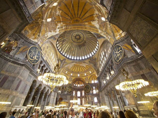 Hagia Sophia's sublime acoustics digitally created